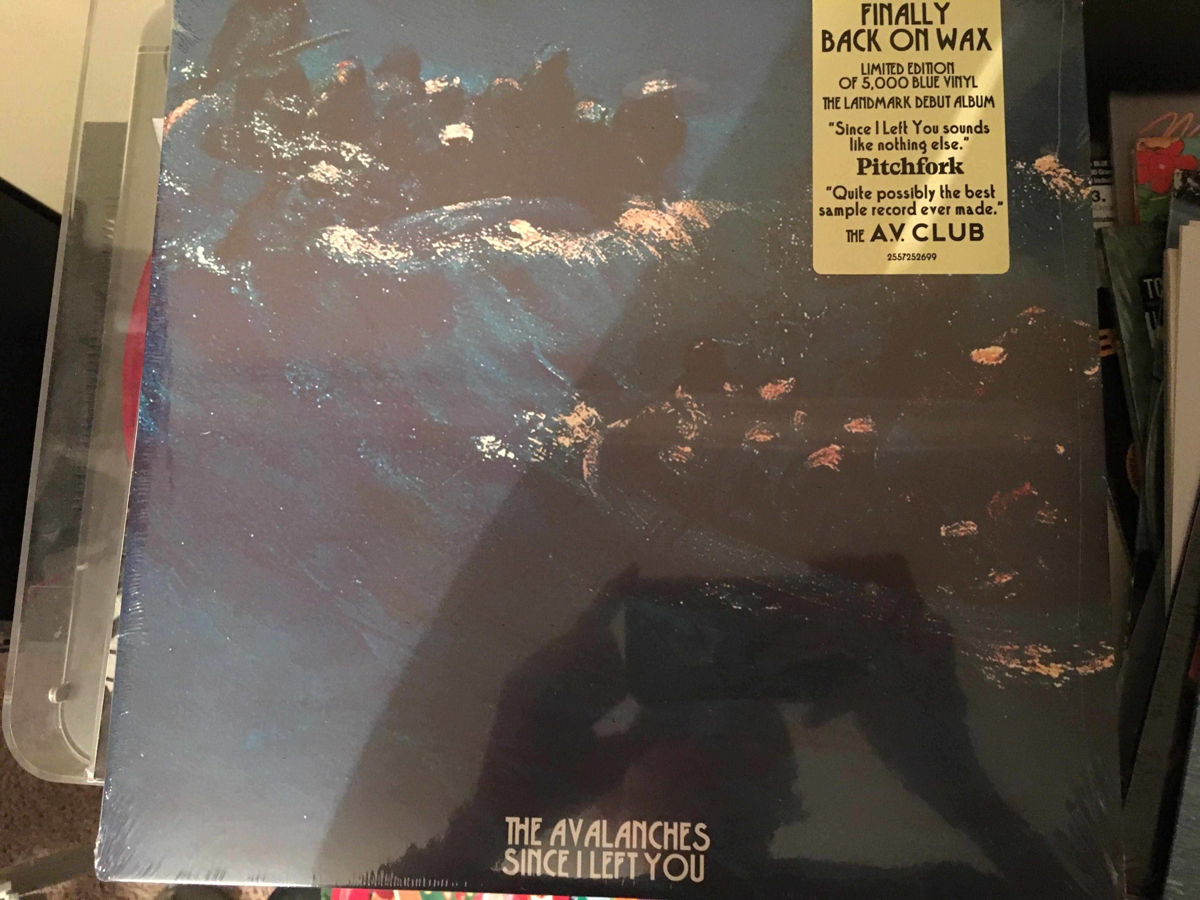 Avalanches Since I Left You 2017 Reissue Blue Vinyl Blue Vinyl Vinyl Record Collection Vinyl