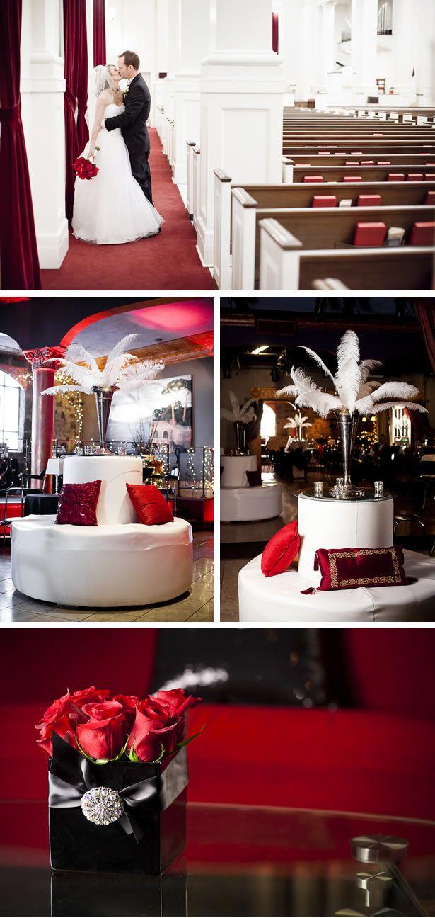 Old Hollywood, Vintage Themed Wedding | Pinterest | Wedding, Red ...