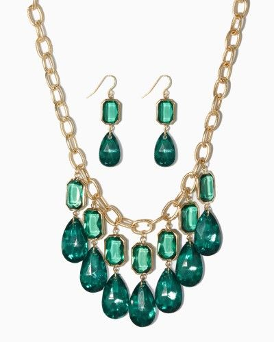Portia Bead Necklace Set | charming charlie