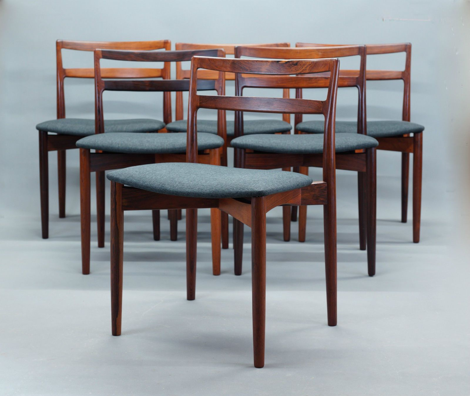 Danish Vintage Retro High Quality SET OF 6 Dining Chairs BY Harry Oestergaard in Moorooka, QLD | eBay