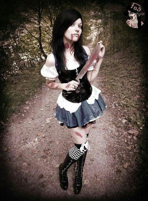 Conhecido 7 - alice assassina - Cópia | Halloween | Pinterest | fantasias de  FD22
