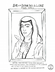 Women's history coloring pages