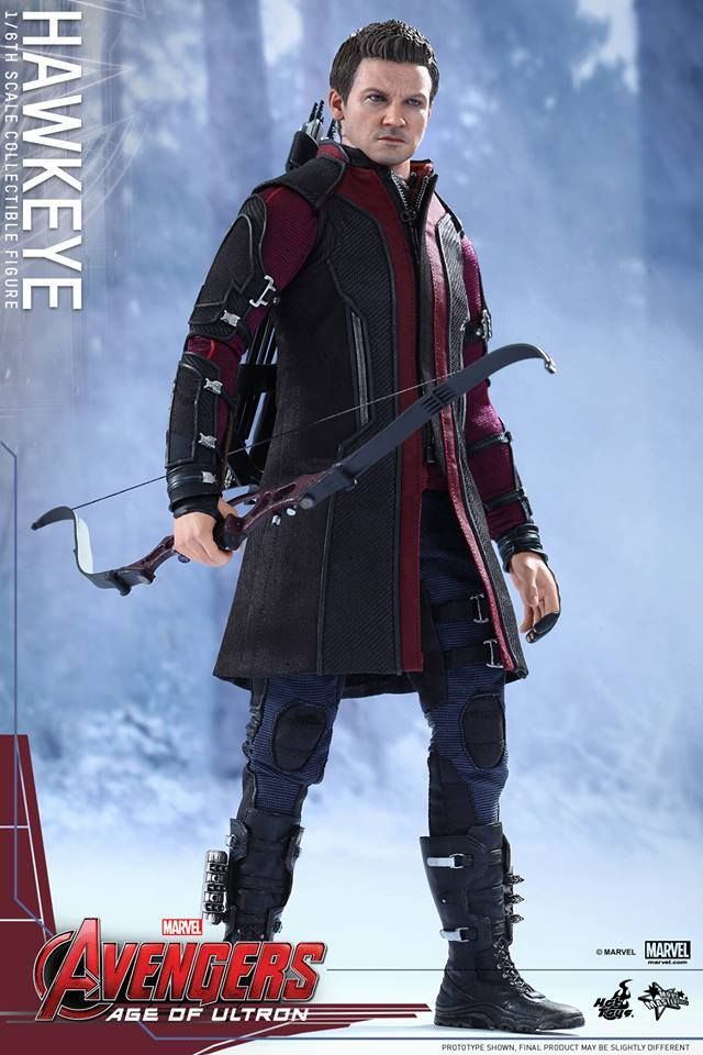 Pre-Order Hot Toys Marvel Avengers Age of Ultron Hawkeye  sc 1 st  Pinterest : hawkeye age of ultron costume  - Germanpascual.Com