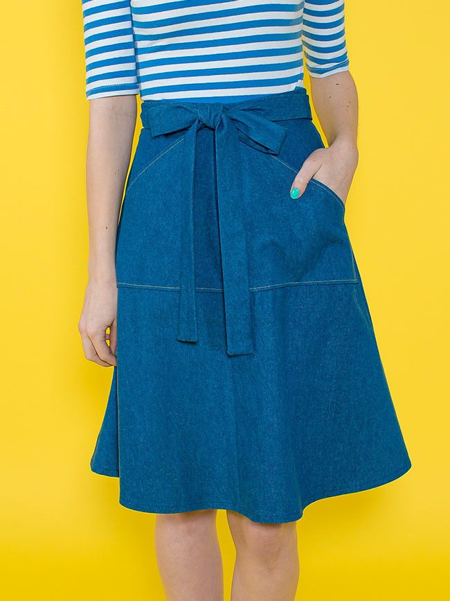 Miette skirt | Sewing patterns, Wraps and Patterns