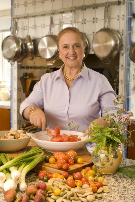 Lidia Bastianich Queen Of Italian Cooking Coming To The Flower Show Lidia Bastianich Italian Cooking Italy Cooking