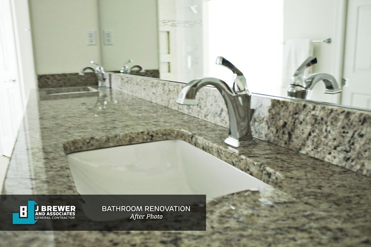 J Brewer & Associates - Master Bathroom Remodel