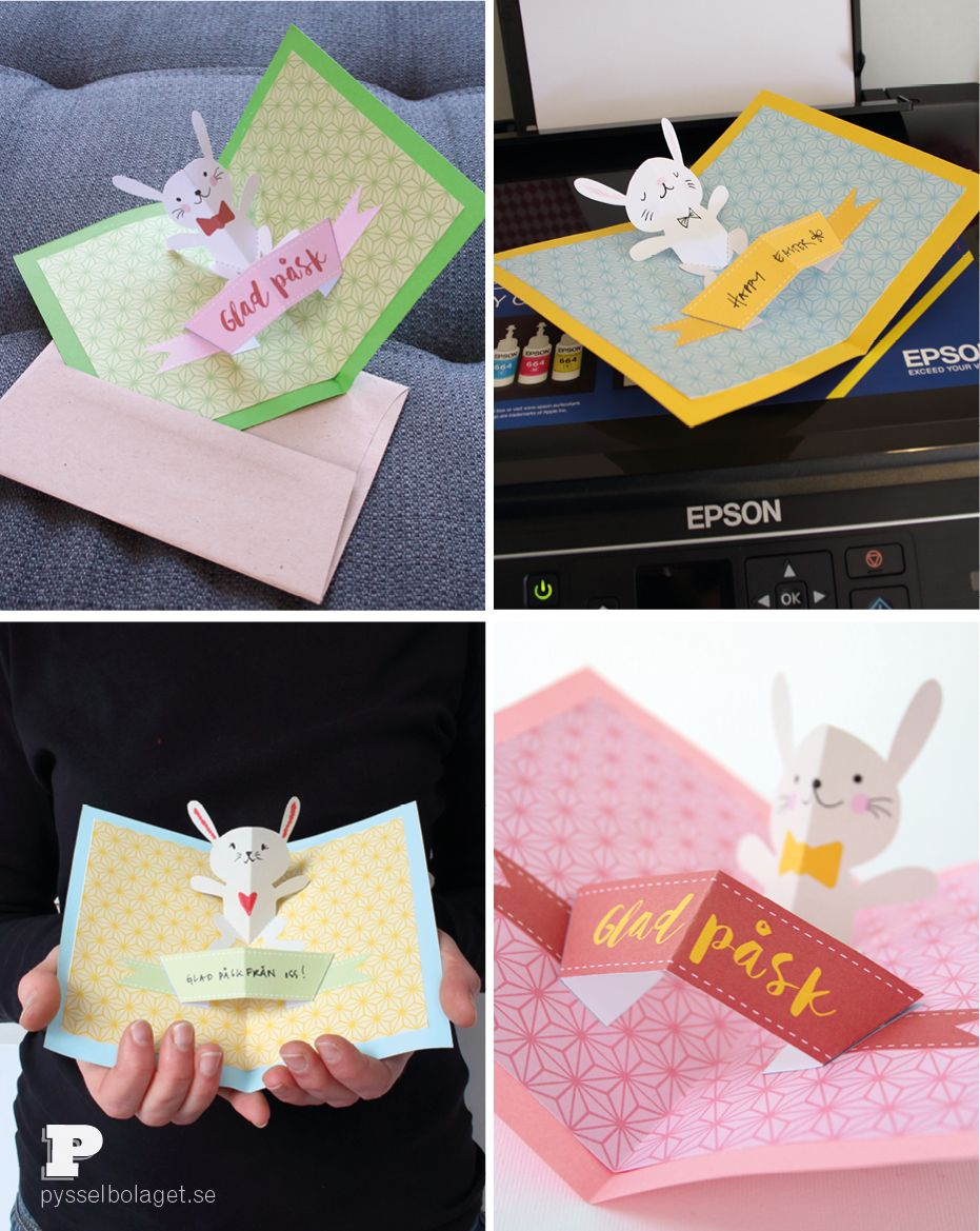 Pop Up Cards With Epson Ecotank Pop Up Cards Pop Out Cards Fun