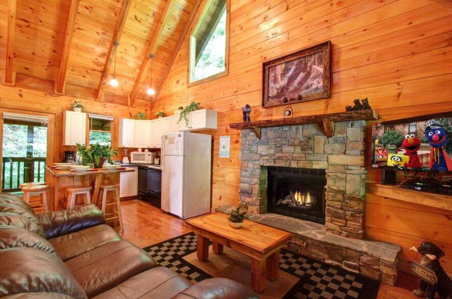 As Good as it Gets 1 Bedroom Cabin Rental in Sevierville