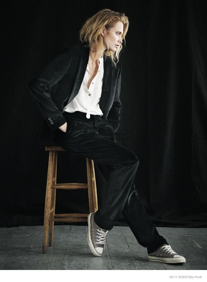 11354099b Poppy Delevingne Shows Off Understated Style for So It Goes Magazine ...