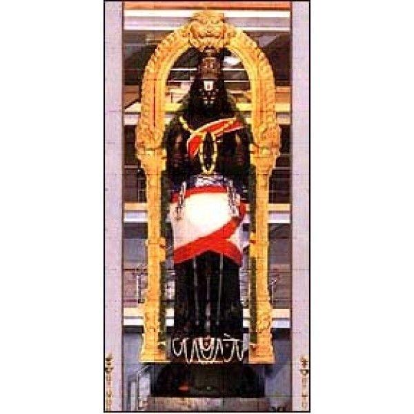 Nanganallur-32 feet tall Hanuman statue