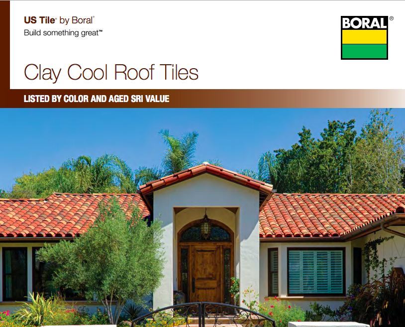 Best Boral Roofing Cool Rated Clay Roof Colors Roof Colors 400 x 300