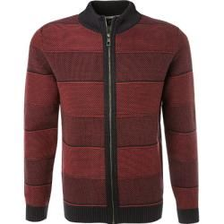 Photo of Pierre Cardin Cardigan Herren, Baumwolle, rot Pierre Cardin