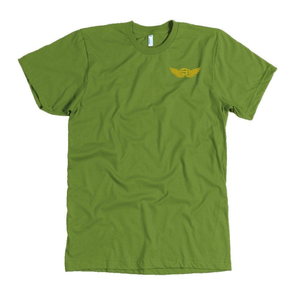 mens t shirts - American Apparel Mens / Olive / L