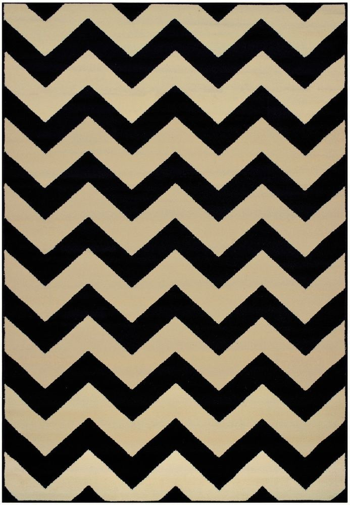 Black And Tan Area Rugs details about zigzag chevron black tan design contemporary 2x3 2x7