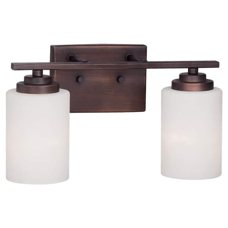 View The Millennium Lighting 3182 Durham 2 Light Bathroom Vanity At Lightingdirect