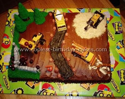 Coolest Construction Birthday Cakes Construction birthday