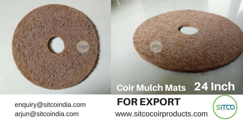 Sitco Coir Mulch Mat Mulch Biodegradable Products