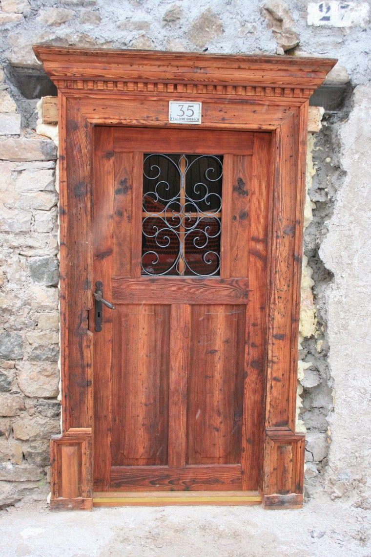 Favoloso Porte e portoncini | Falegnameria Mik Legno – Vallada Agordina  JR22