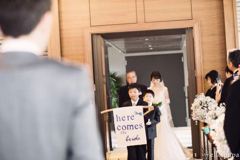 挙式のようす*at 神戸オリエンタルホテル旧居留地 |*ウェディングフォト elle pupa blog*
