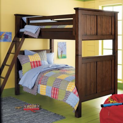 Walden Bunk Chocolate The Land Of Nod 59 From Floor To Top Of