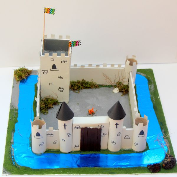 Ideas Hobbycraft Blog Castle Crafts Cardboard Castle Castle Project
