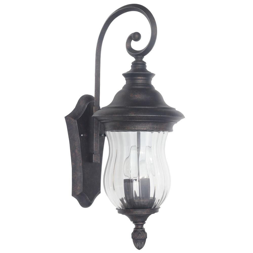 Wesleigh light bronze outdoor wall mount cottage style