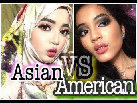Awesome Malaysian VS Western Makeup | Asian Makeup Trends | Makeup Tutorial