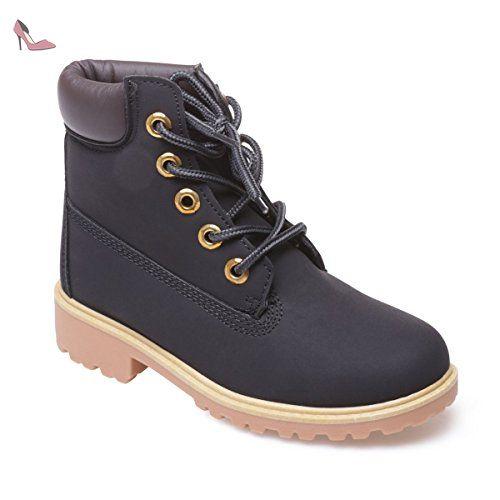 73cfc302019b1 La Modeuse - Bottines rangers enfant - Chaussures la modeuse ( Partner-Link)