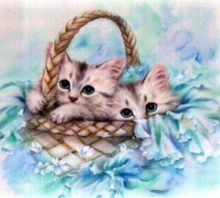 Забавные котята японской художницы Kayomi Harai ...