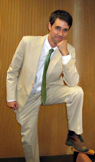 El Paso Great Gatsby, Beto O'Rourke, 2009    Go Beto... now our U.S. Congressman !!!!!