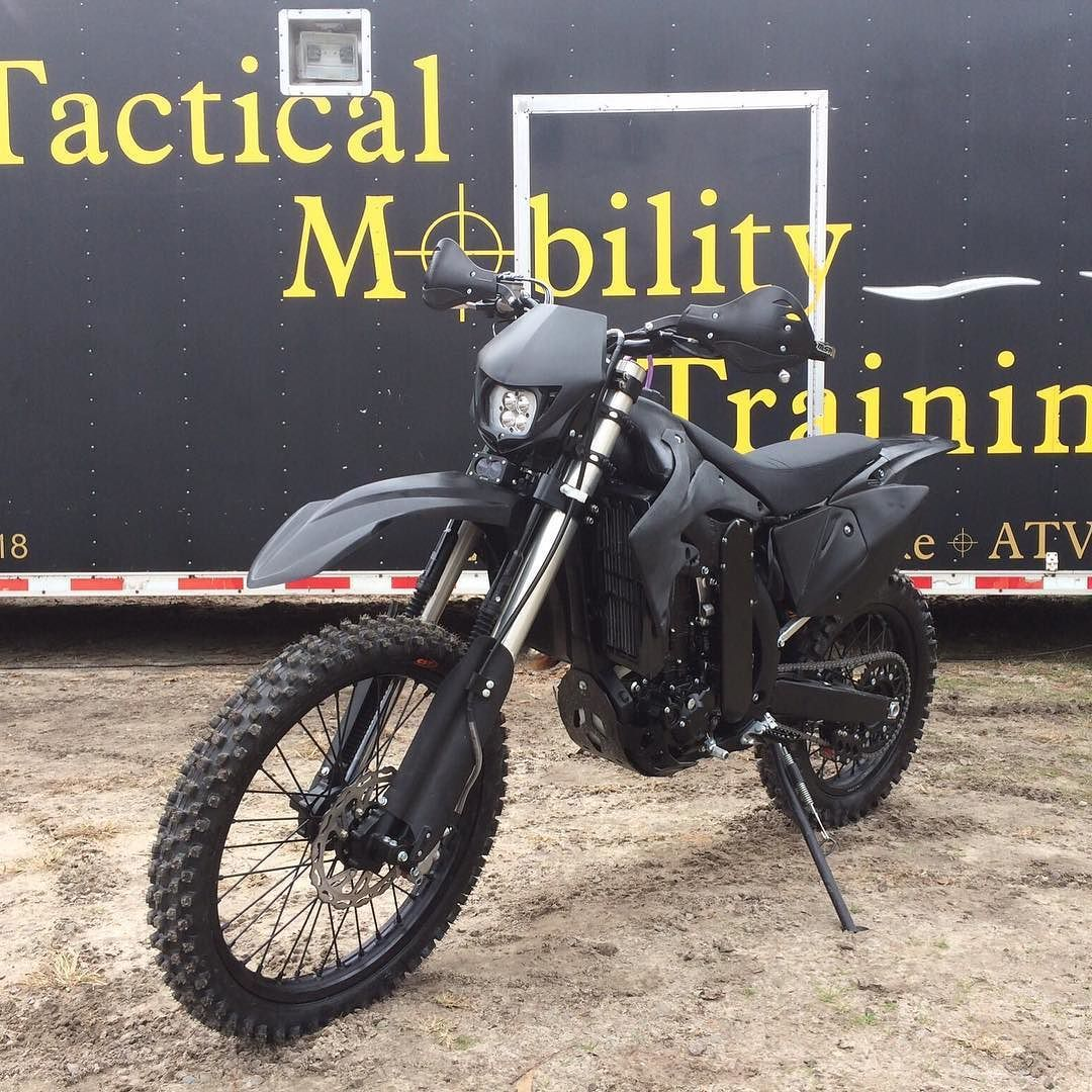 US Air Force Special Tactics Motorcycle | This 2003 Kawasaki
