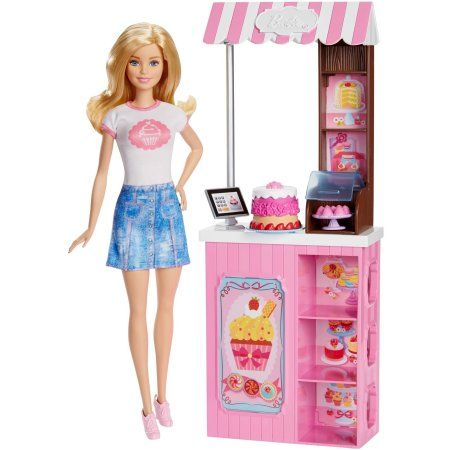 Barbie Careers Bakery Playset - Walmart BARBIE - Playsets - walmart careers