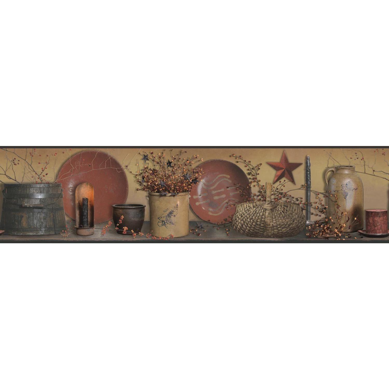 Kitchen wallpaper border  Country Keepsakes u x