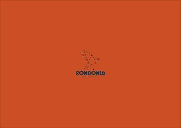 Marca Rondônia Gestão Ambiental by Lucas Pires, via Behance
