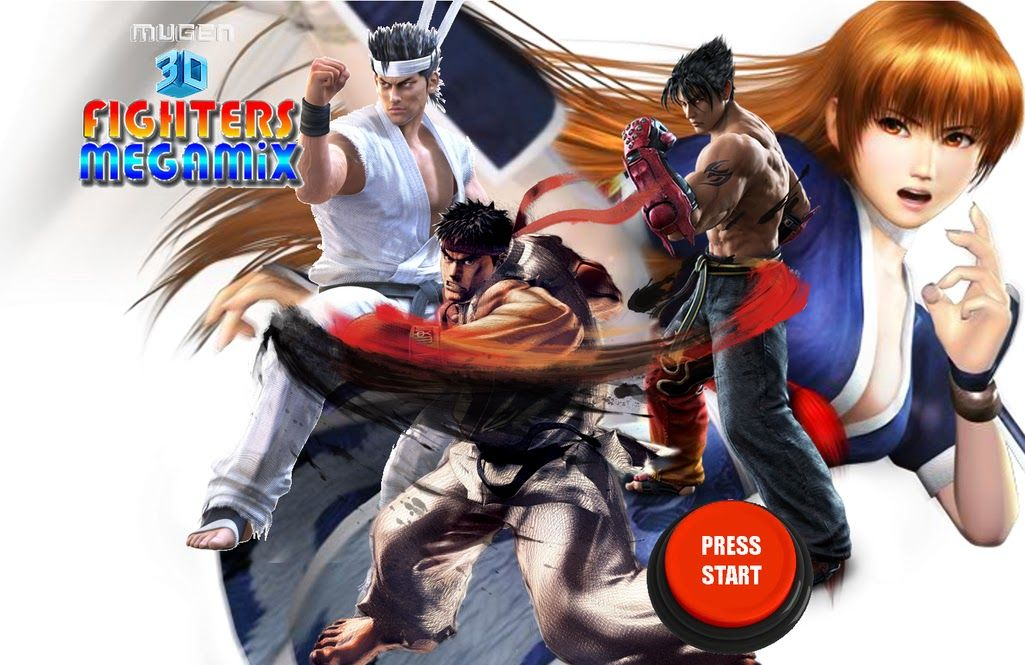 MUGEN 3D FIGHTERS MEGAMIX 2 0 IS OUT | Games & Mods | Movie