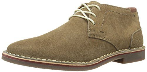 Kenneth Cole REACTION Men's Desert Wind Chukka Boot, Taupe, 12 M US:  Three-eyelet chukka boot in suede featuring contrast stitching at upper and  around welt ...