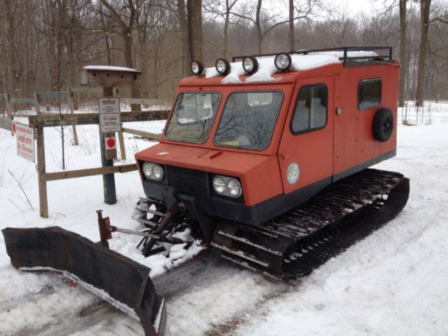 1972 Thiokol / LMC 1404 Imp snowcat groomer track vehicle