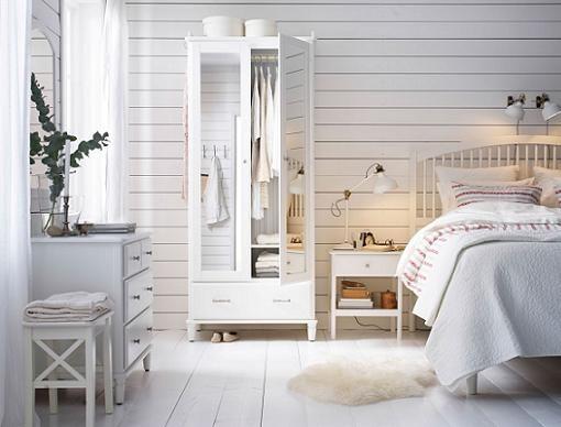Dormitorio ikea tyssedal de matrimonio y estilo vintage - Decoracion dormitorio ikea ...