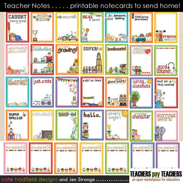 It's just a graphic of Soft Printable Positive Notes Home for Parents
