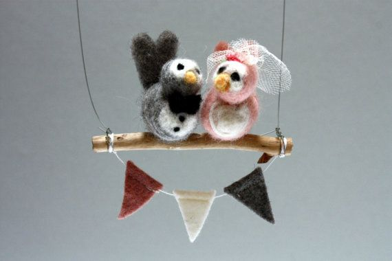 Wedding Day Lovebirds  www.etsy.com/au/shop/sewinthemoment