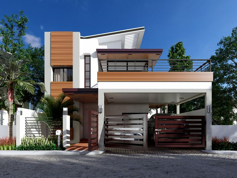 Mhd 2014012 view1 philippines house designs pinterest for House design for small houses philippines