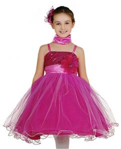 Vestido corte princesa nina
