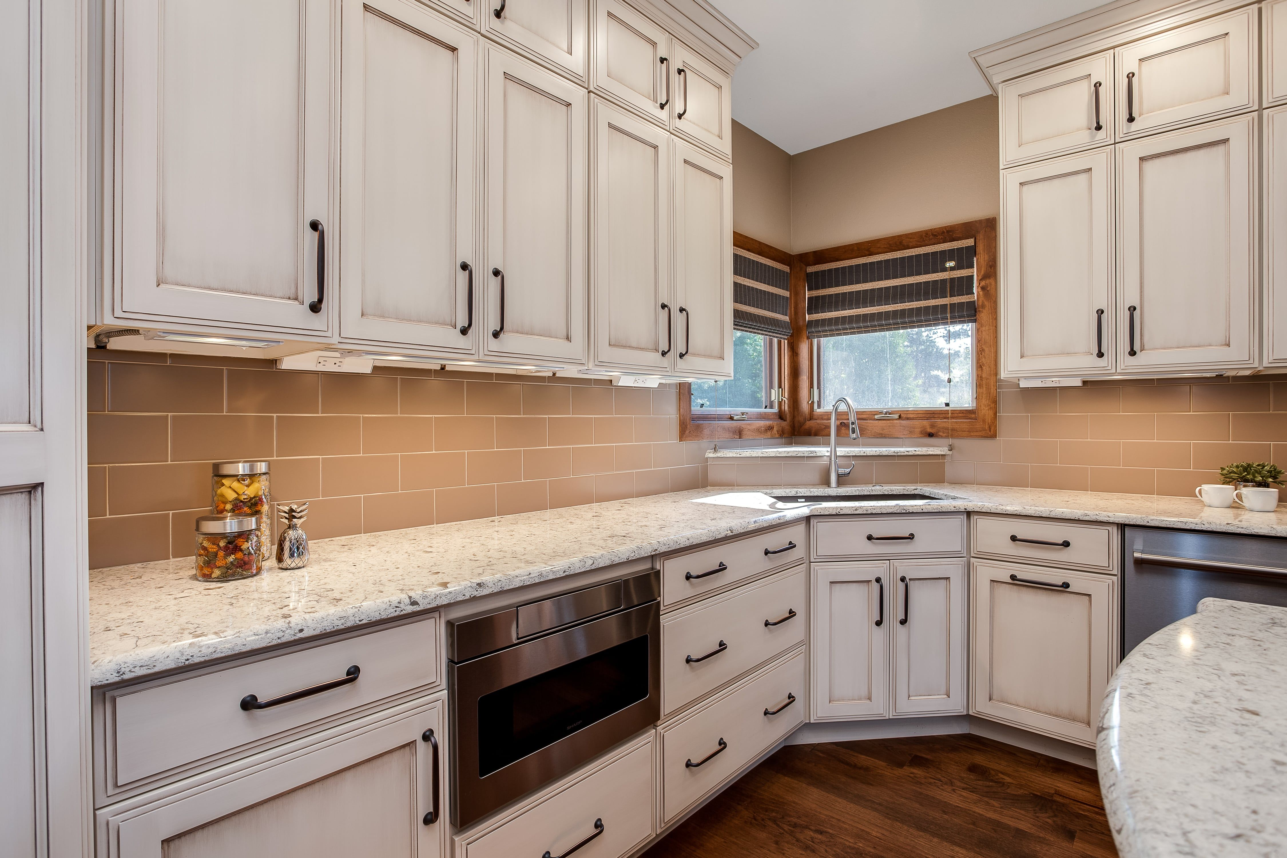 Off White Cabinets With Granite Countertop White Kitchen Design Wood Kitchen Cabinets White Kitchen