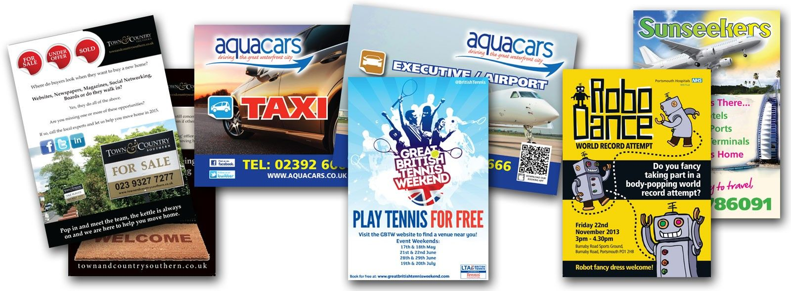 Http Portsmouthflyers Co Uk Professional Flyer Production And Distribution Service Sale House Play Tennis Flyer