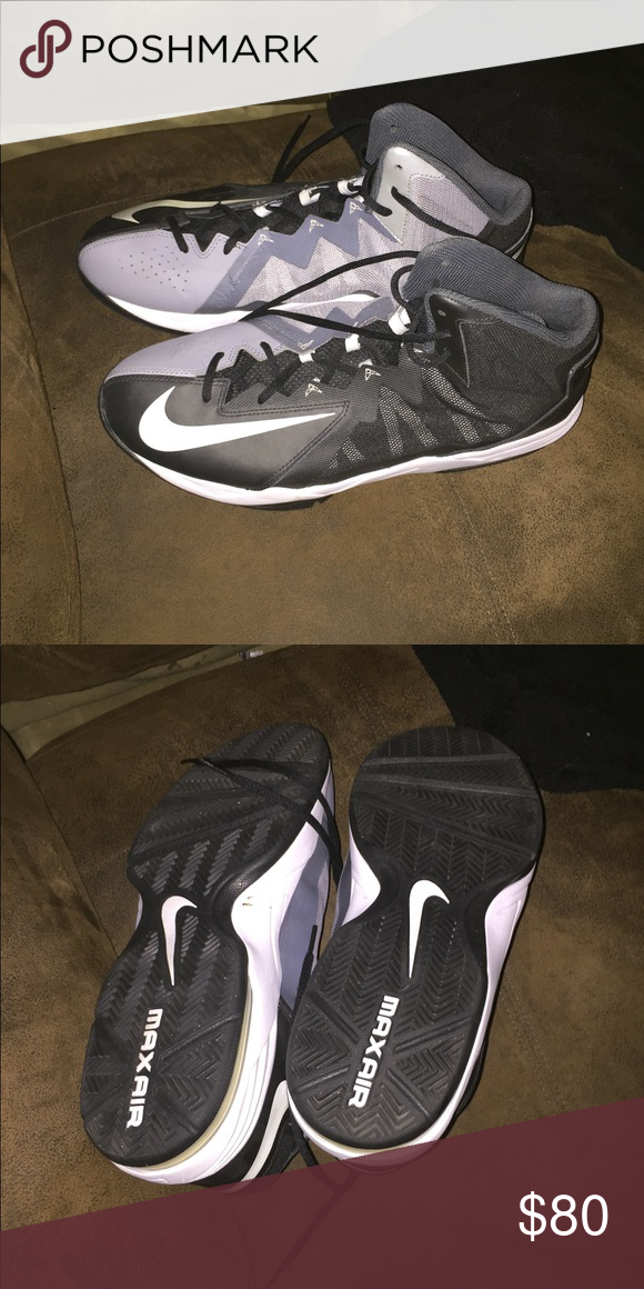 finest selection 9b6ab 08f3d Men s Nike Basketball Shoes Size 13! Practically brand new!! Only worn a  couple times! Nike Shoes Athletic Shoes