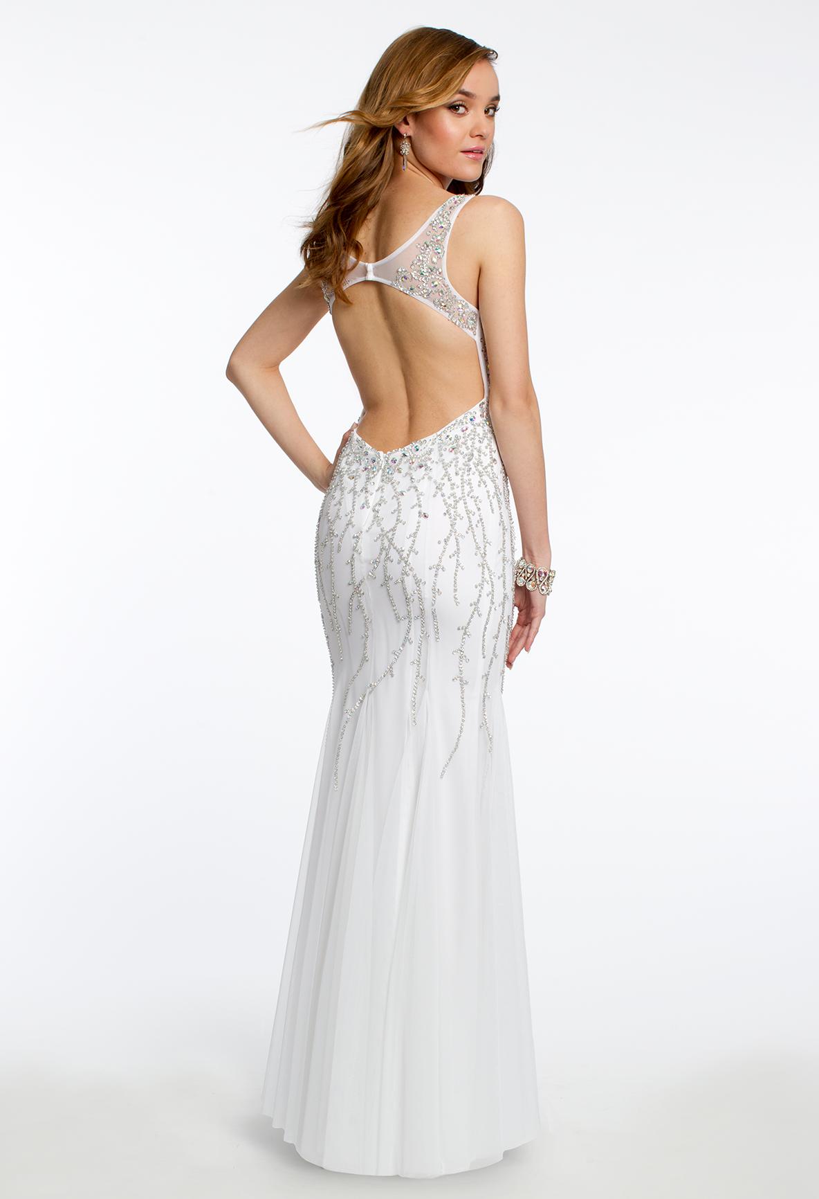 Beaded Prom Dress #camillelavie #CLVprom