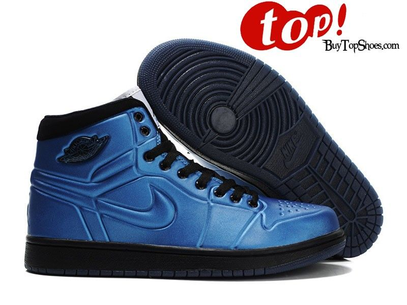 Jordan High Tops Mens Air Jordan 1 Anodized Foamposite High Tops
