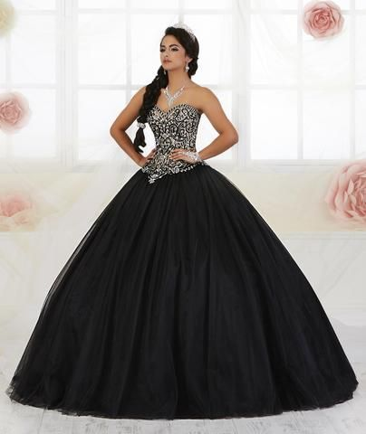 609295e12d0 Strapless Quinceanera Dress by Fiesta Gowns 56359 (Size 14 - 26)