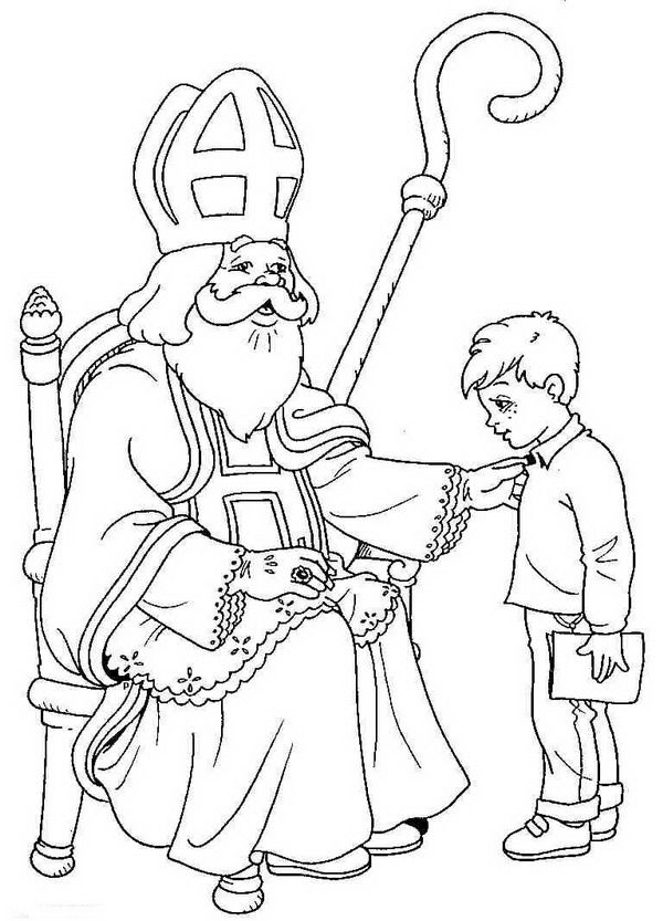 Kids N Fun Coloring Page St Nicholas St Nicholas Saint Nicholas Cool Coloring Pages Coloring Pages