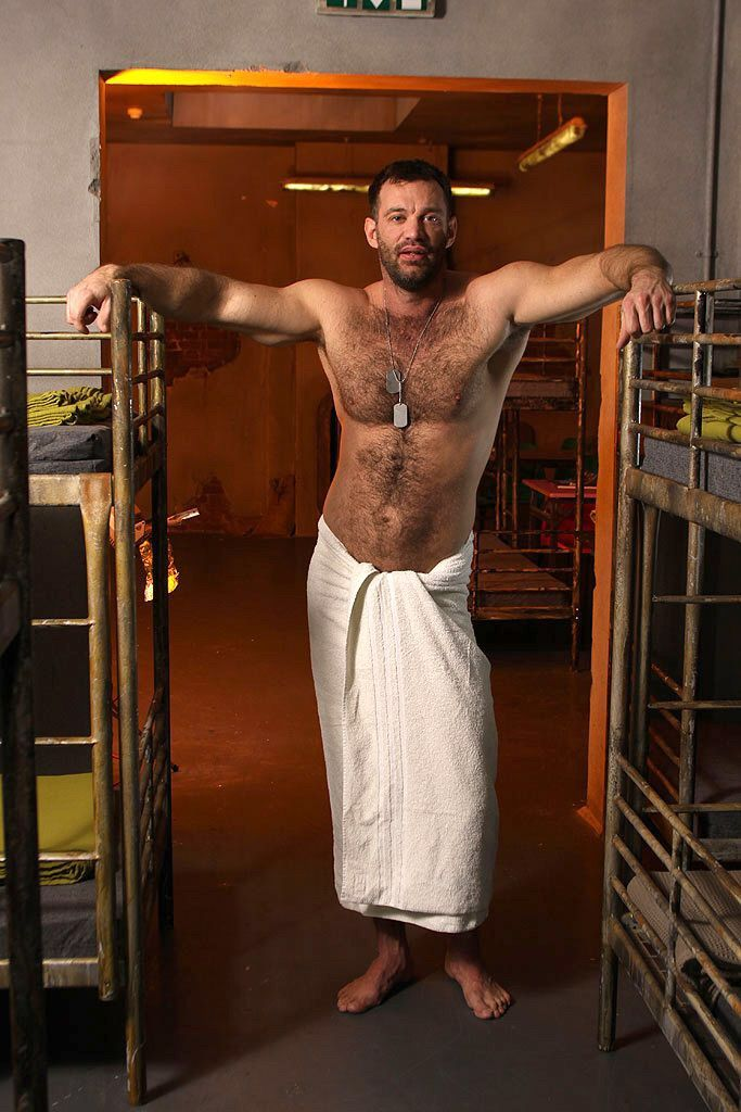 Hairy men locker room interesting. You
